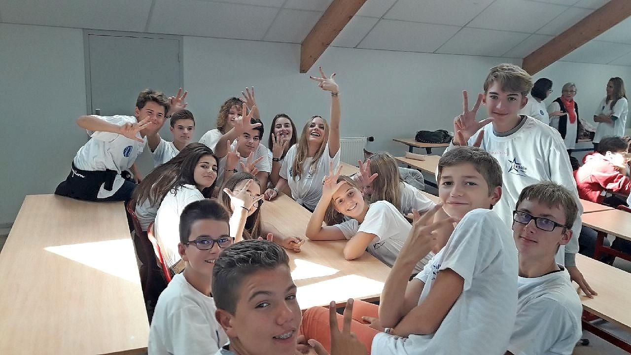 Journée des délégués de 3<sup>e</sup> du Réseau La Salle à La Motte Servolex