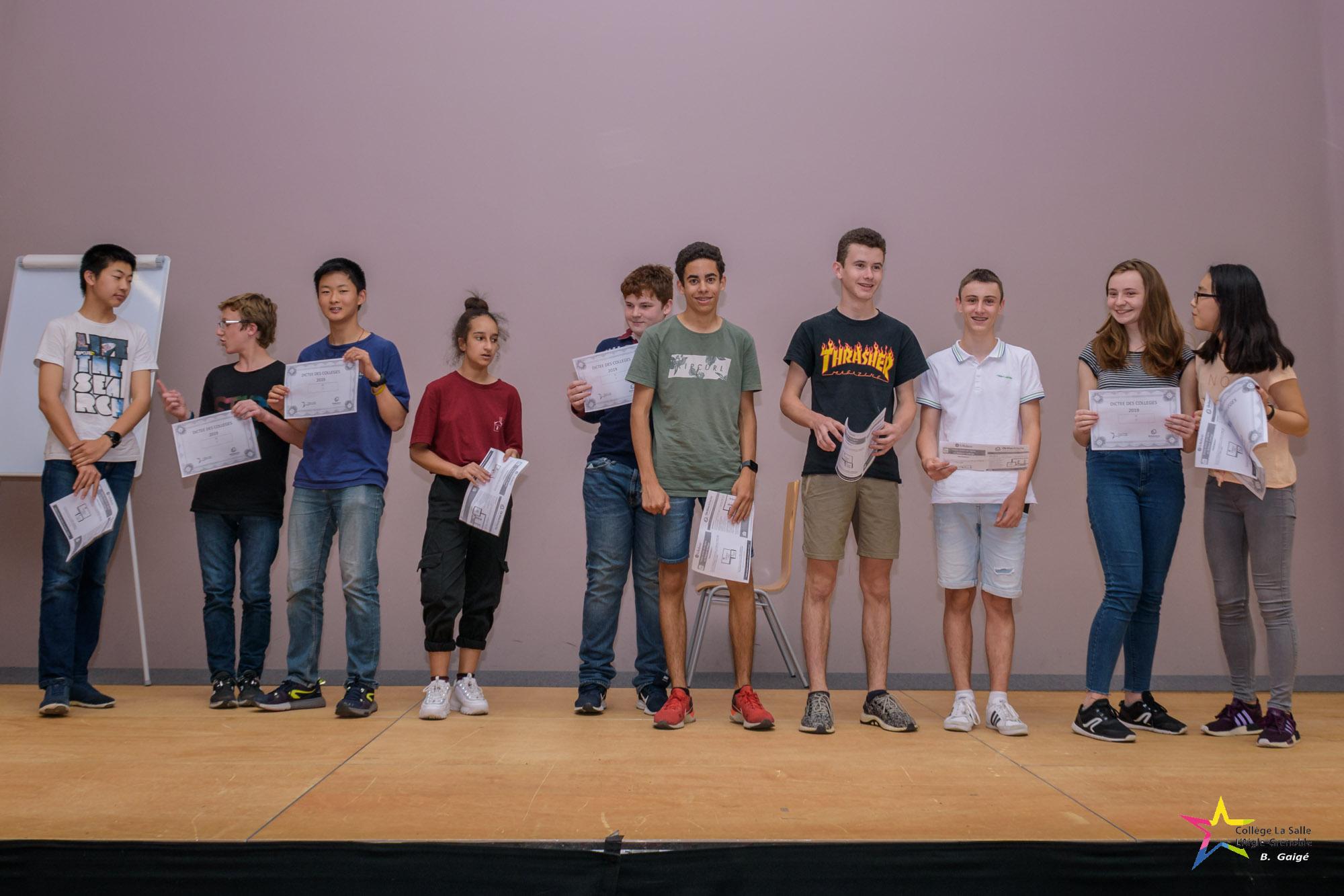 laureats concours 2019