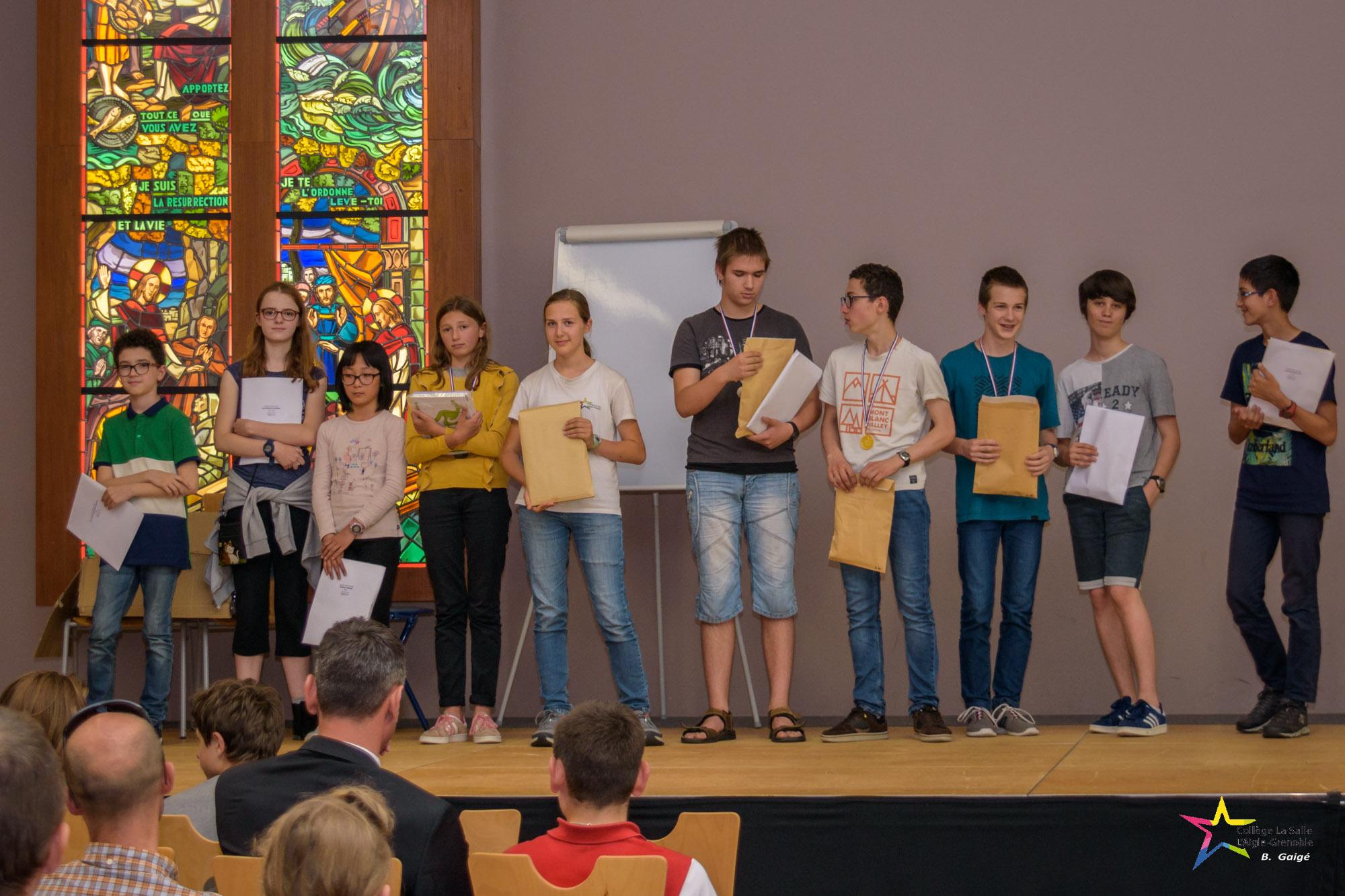 les lauréats concours-Aigle