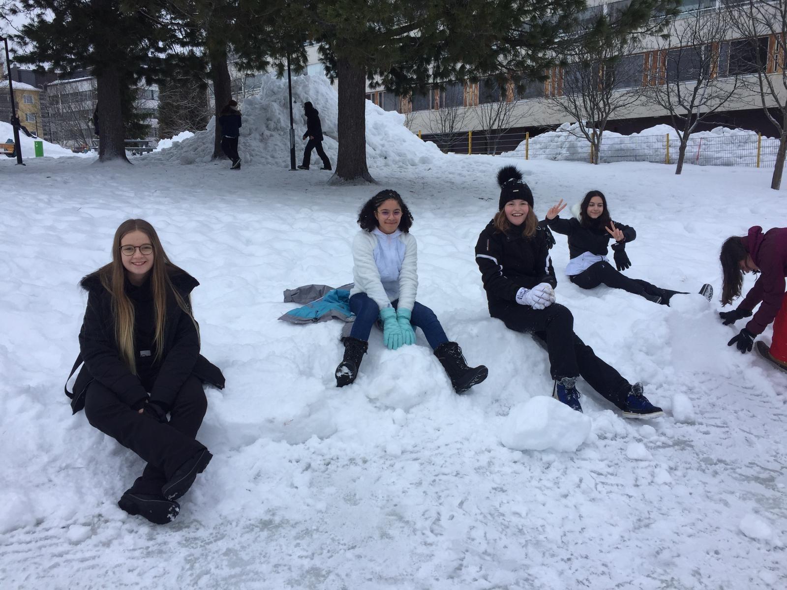 10 Détente dans la neige