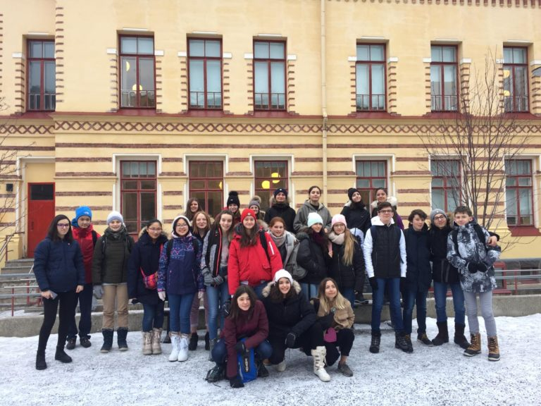 Voyage en Finlande des élèves de 3e du 13 au 21 février