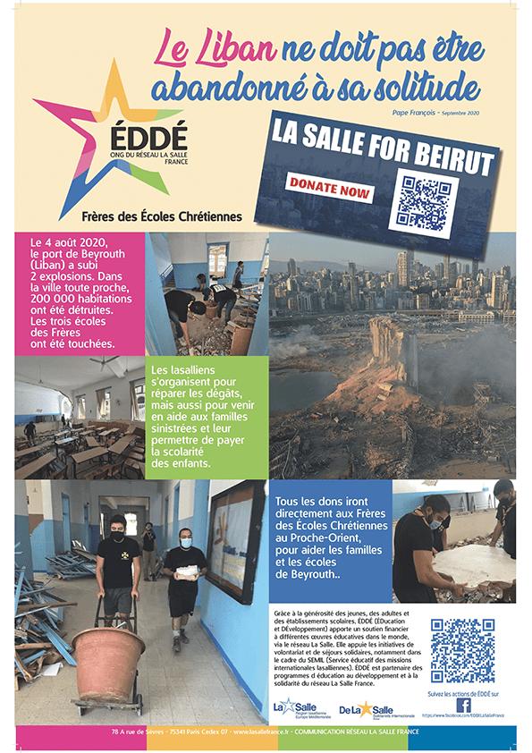 """""""Le Liban ne doit pas être abandonné à sa solitude."""" Pape François"""