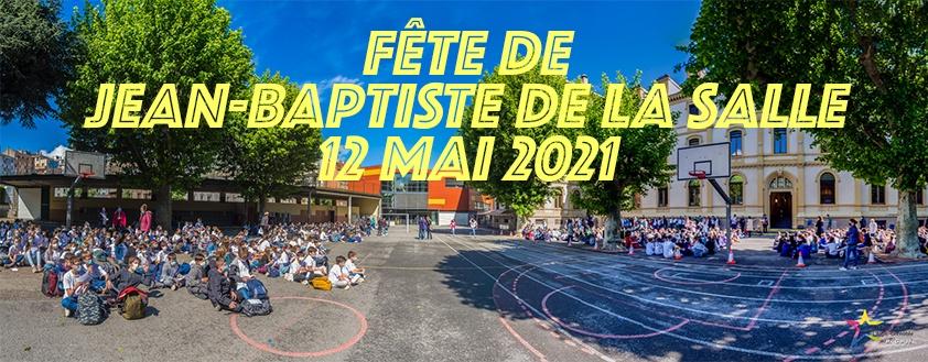 FÊTE DE JEAN-BAPTISTE DE LA SALLE
