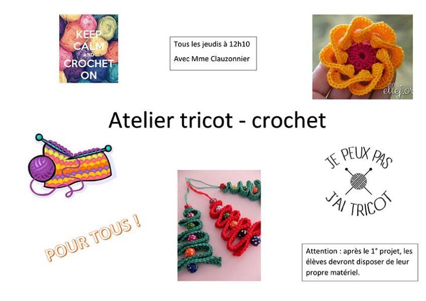 Atelier tricot-crochet